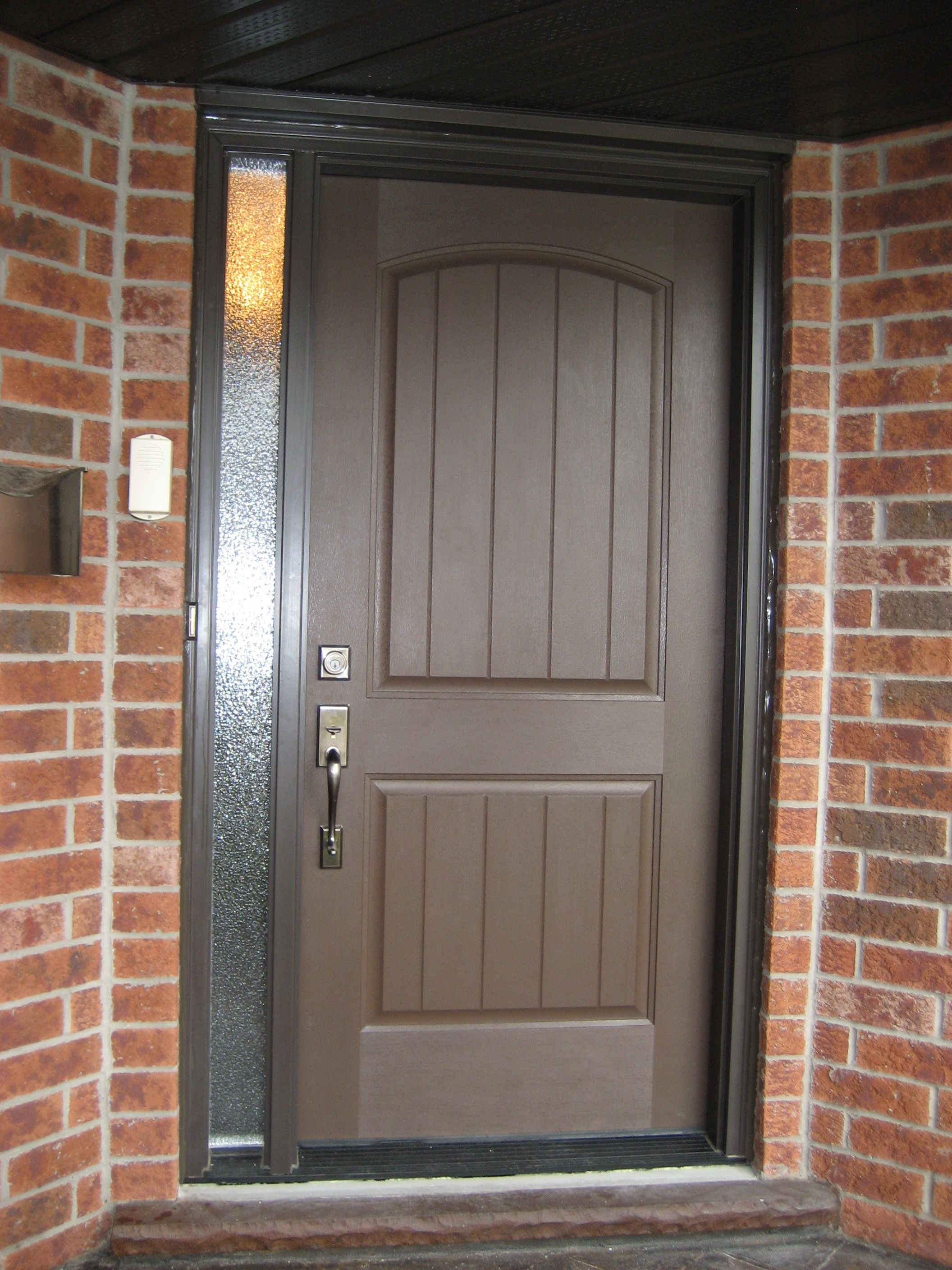 here front house retouched system entrance our fiberglass door options doors steel kohltech carls revolve see gallery